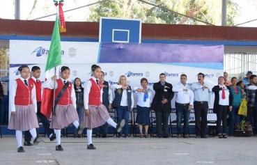 Activa Alma Laura Amparán Ciclo Municipal Educativo en escuelas de Altamira