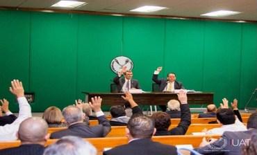 Asamblea de la UAT aprueba presupuesto para el ejercicio 2019