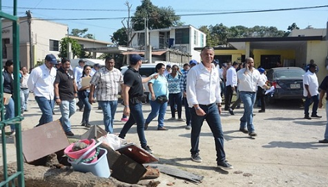 Tampico Brilla llegó a la Colonia Nuevo Progreso