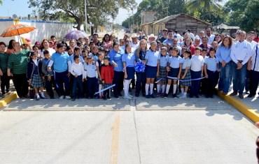 Mejora Gobierno de Altamira movilidad vial con más obras de pavimentación