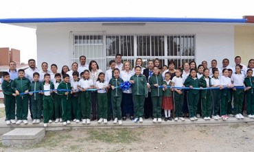 Fortalece Gobierno de Altamira infraestructura de planteles educativos