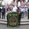Interponen telefonistas cinco amparos contra Ley de Telecomunicaciones; marchan por la derogación