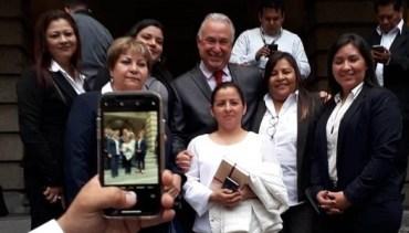 Resuelve Héctor Garza problemas de educación media en Tamaulipas