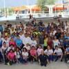 Trabajadores del INDE Tamaulipas se activan por una vida más saludable.