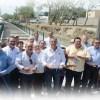 Inaugura Chucho Nader Moderno  Dren Pluvial en la Colonia el Charro
