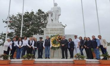 Conmemoran en Tampico el 213 Aniversario del Natalicio de Benito Juárez