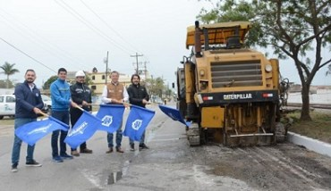 Inicia Chucho Nader Reencarpetado en Importante Vialidad de la Morelos