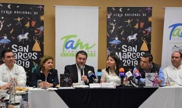 Alista Tamaulipas su participación en la Feria Nacional de San Marcos 2019.