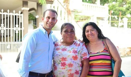 Ofrece Mon Marón legislar a favor de las familias tampiqueñas