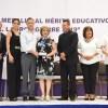 """Entrega Chucho Nader la Medalla """"Lauro Aguirre"""" al Mérito Educativo"""