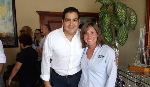 Rosa González será una Excelente Legisladora y Velará por el Bienestar de los Tampiqueños, Asegura Senador Tamaulipeco