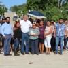 "Alcalde de González ""Memo"" Verlage entrega obras en Francisco I. Madero"