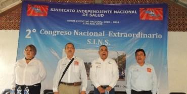 Sella compromiso el SINS, en segundo congreso nacional extraordinario