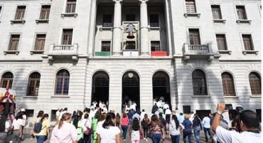 Realizan con Éxito Mega Simulacro en el Palacio Municipal de Tampico