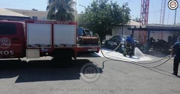 Desinfectan instalaciones de Guardia Nacional en Nuevo Laredo