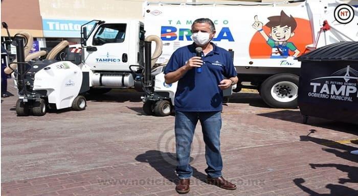 En Tampico Cumplimos el Compromiso de Construir una Ciudad Limpia, Segura y Moderna; Chucho Nader
