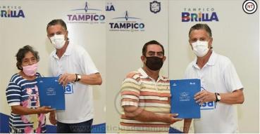 Ha Entregado Chucho Nader 450 Concesiones a Locatarios del Nuevo Mercado de Tampico