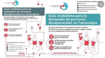 Presentan Guía Ciudadana para la búsqueda de personas desaparecidas