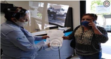Convocan a vecinos a recoger  Carta de Liberación de Servicios