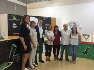 Manuel Hernández inaugura el I Encuentro Internacional de Extremadura Judo Femenino