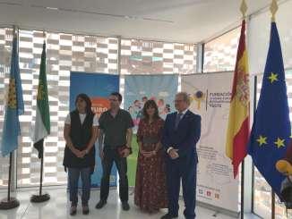 La Fundación Yuste presenta una exposición realizada por alumnos de Navalmoral dentro del proyecto 'La Unión Europea: una historia de valores y derechos humanos'