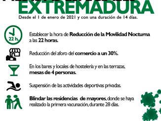 Extremadura en nivel de alerta 4