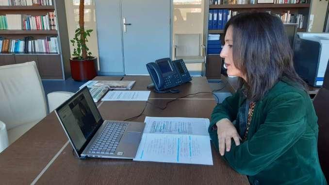 Esther Gutiérrez. Consejera de Educación y Empleo