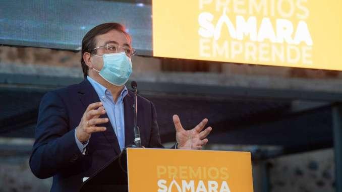 El-presidente-de-la-Junta-de-Extremadura-afirma-que-la-Administracion-debe-servir-y-acompanar-a-las-empresas-en-todo-lo-que-necesiten