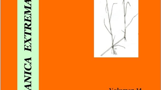 La revista Folia Botanica Extremadurensis de CICYTEX recibe el premio ADENEX 2019 en el ámbito científico