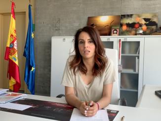 Consejera de Turismo, Nuria Flores