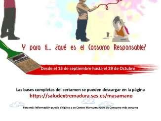Concurso de Dibujo Infantil y Juvenil sobre Consumo Responsable