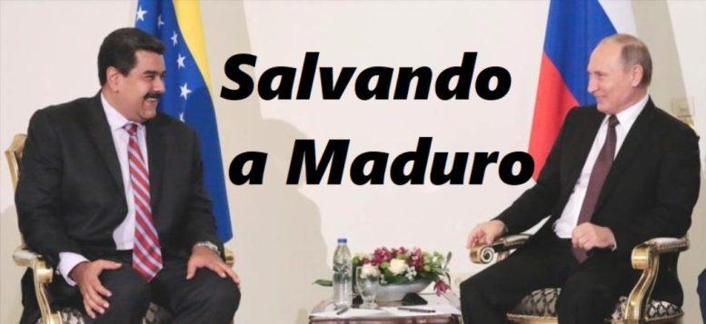 Maduro con Vladimir Putin SALVANDO A MADURO