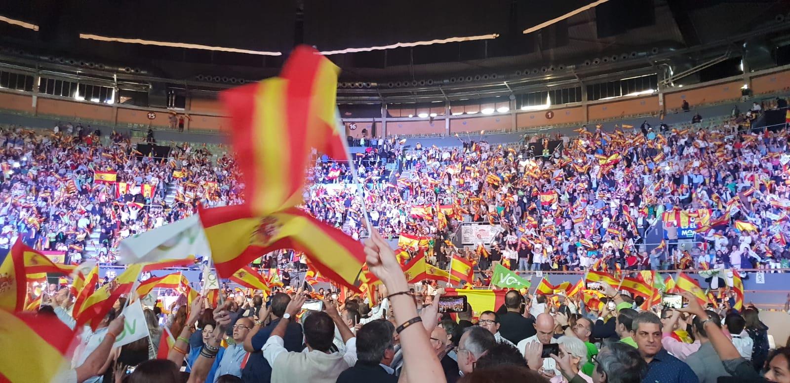 VOX León considera todo un éxito la fiesta de Vistalegre - Noticias ... dfd14e259c5