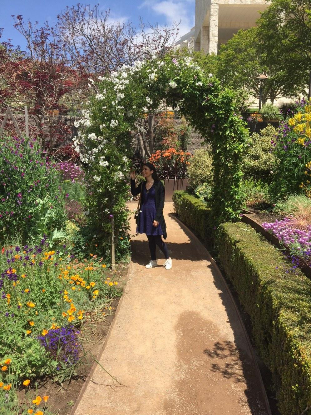 Jardín en The Guetty