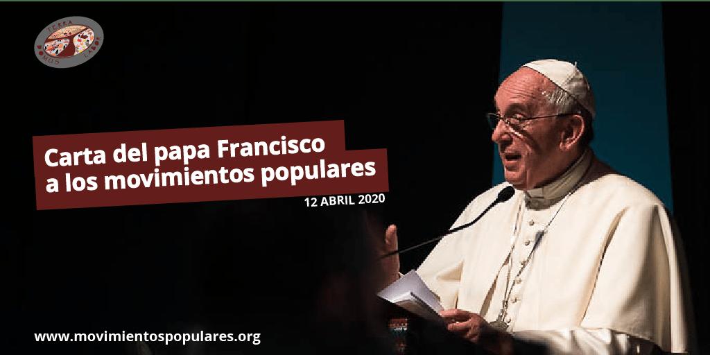 Papa Francisco: «Es el momento de un salario universal para los trabajadores más humildes y sin derechos»