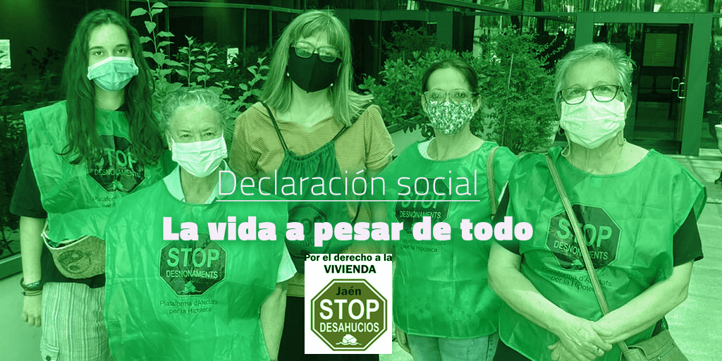 Denuncian práctica abusiva de Endesa en un desahucio paralizado en Jaén