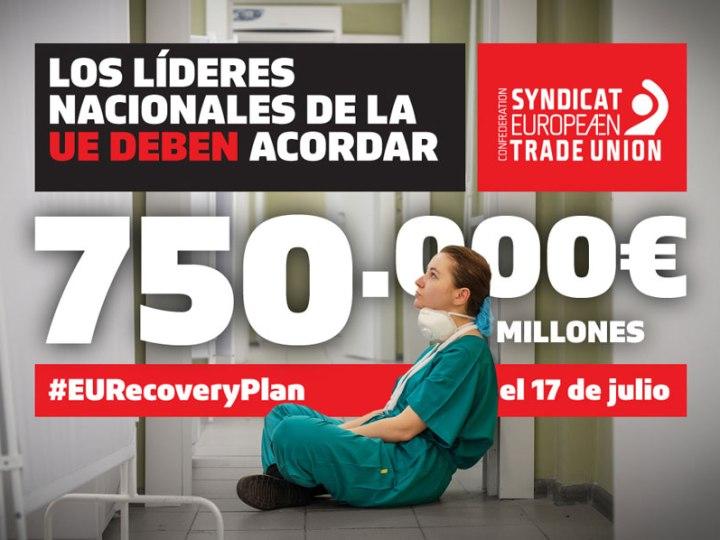 60 millones de trabajadores y trabajadoras dependen del fondo de recuperación de la UE