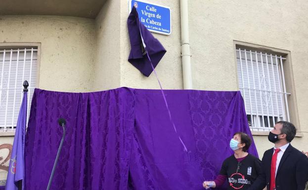 Jaén dedica una calle a un obrero muerto en reivindicación por el trabajo decente