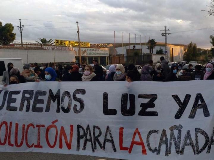 Trabajadores cristianos reclaman una solución de emergencia en La Cañada