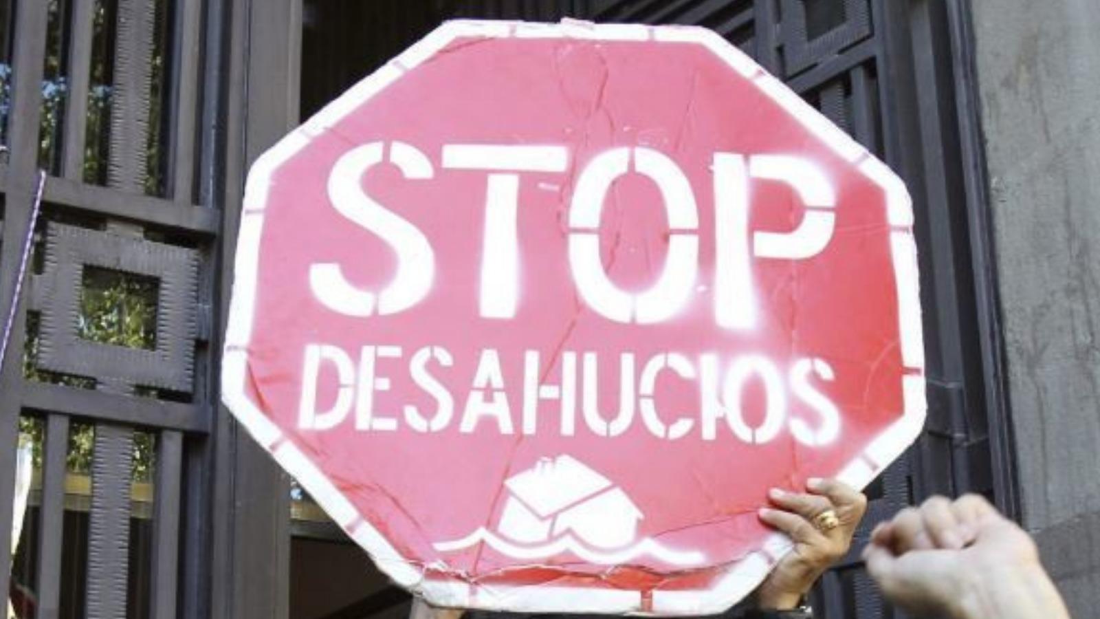 El decreto STOP-desahucios protege temporalmente a familias vulnerables