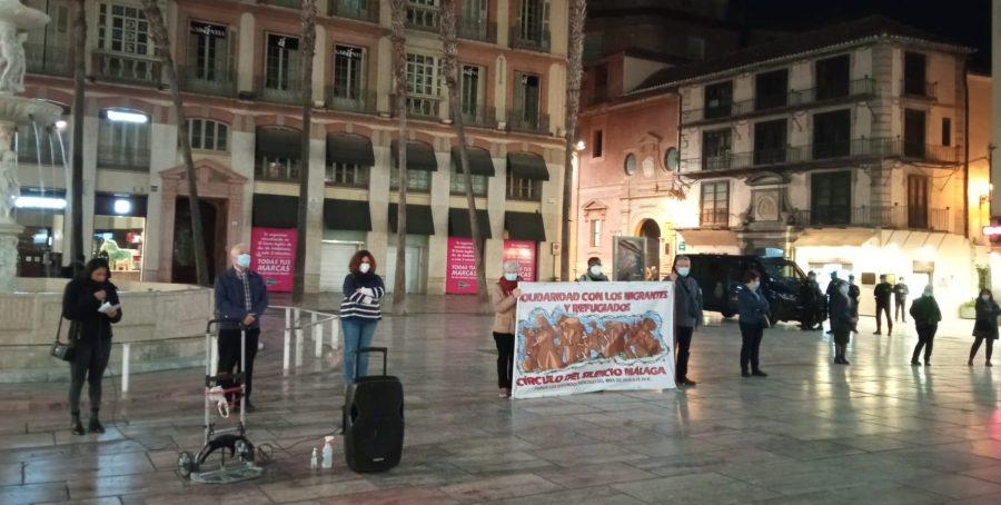 El Circulo de Silencio de Málaga denuncia la precariedad de las trabajadoras del hogar