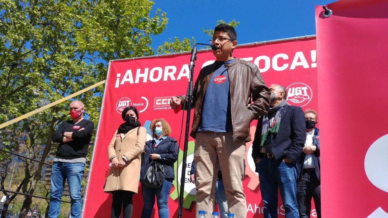 #AhoraSíToca | Trabajadores precarios piden al Gobierno que suba el SMI