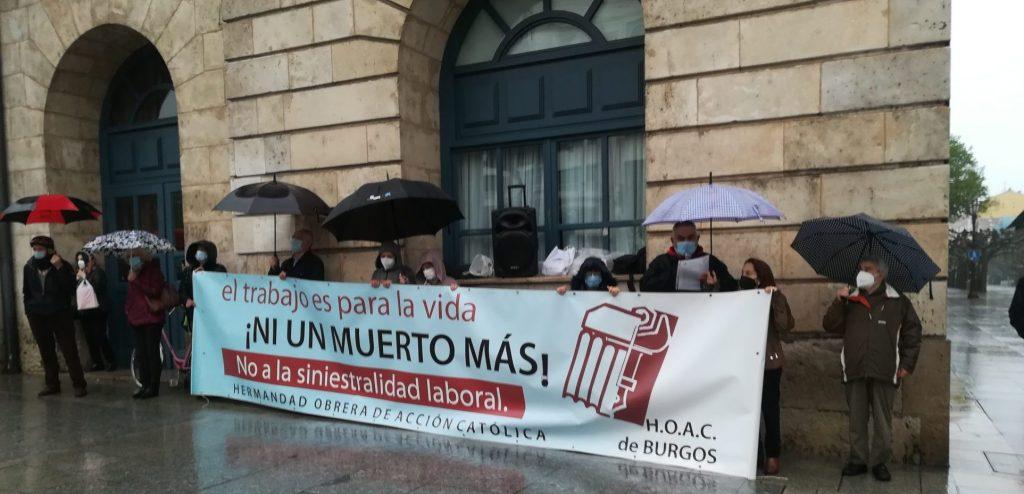 Diálogo en Burgos en torno al Primero de Mayo