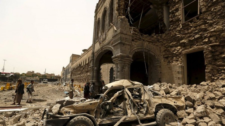 BBVA y Banco Santander hacen negocio con la guerra de Yemen