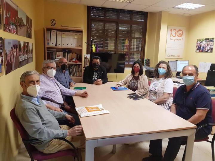 UGT y HOAC de Córdoba comparten prioridades y líneas de colaboración