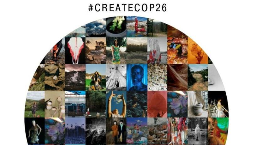 Concurso artístico #CreateCOP26 para concienciar sobre la emergencia climática