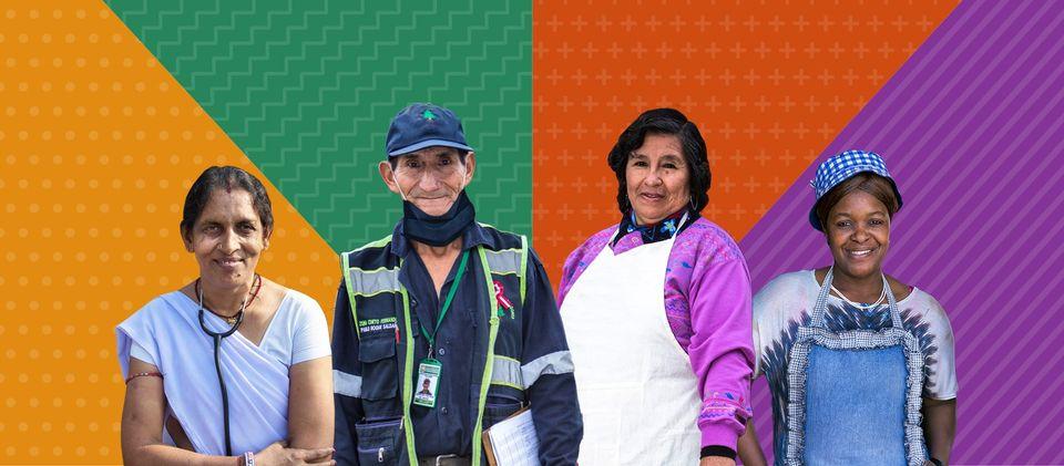 Cumbre mundial de trabajadores y trabajadoras esenciales