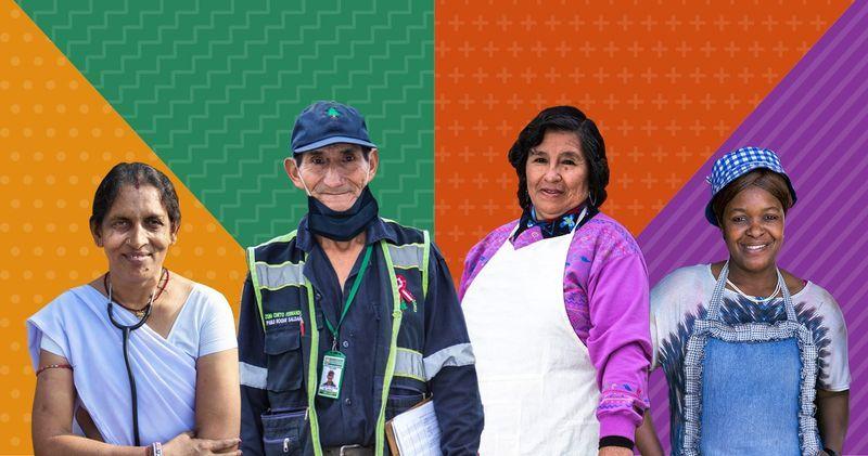 Encuentro de trabajadores migrantes y autóctonos
