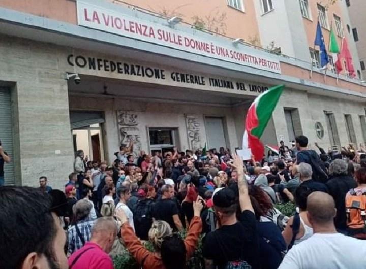 Trabajadores cristianos de Italia se solidarizan con el sindicato CGIL
