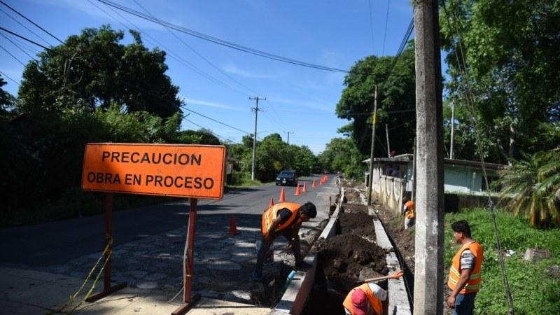 Con 4ta etapa de pavimentación Ayuntamiento concluye magna obra en Calle Aeropuerto